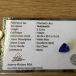Buy Tanzanites From Gradwells Gems Cape Town