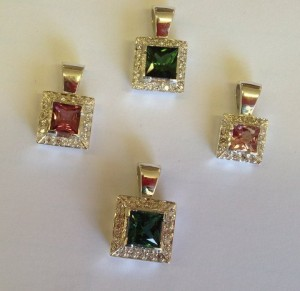 Gemstone Pendant Collection