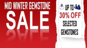 Gradwells Gems Mid Winter Gemstone Sale Now On
