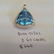 Topaz Christmas Gift For Your Lady