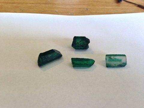 Fake Emerald Gems