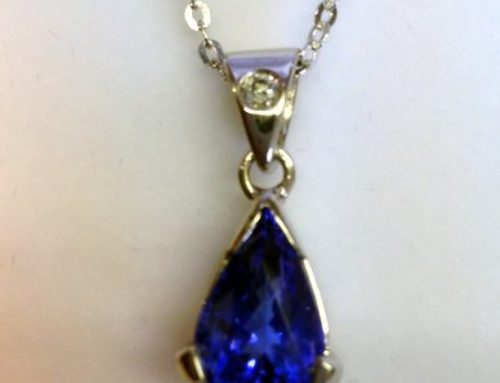 Customer Happy With Pear Shaped Tanzanite