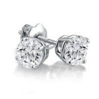 Diamond Stud Earrnings
