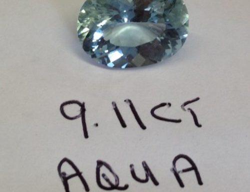 9.11 Carat Aquamarine
