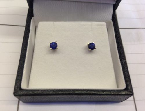 September Special – Sapphire Earrings