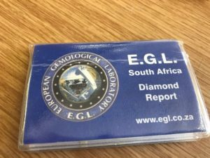 EGL Diamonds Report South Africa Buy Gems