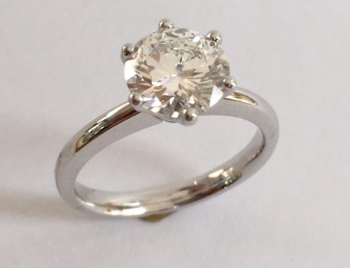 50th Birthday 2 carat Diamond Ring