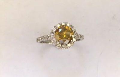Buy this 22 pure white Diamonda Ring in 18 ct white gold