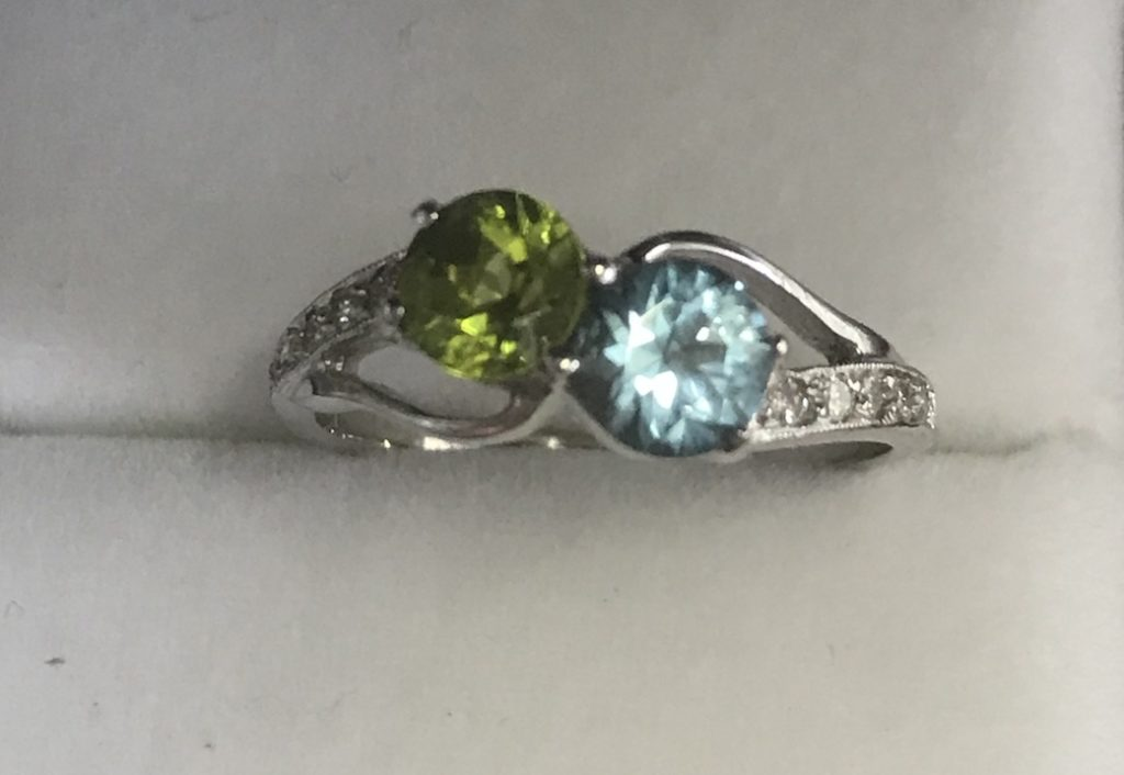 recently completed ring
